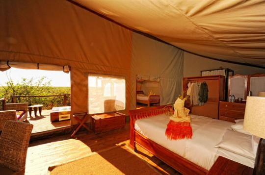 einziges camp linyanti sumpf namibia