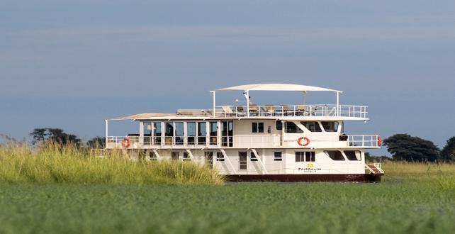 5 Tage Hausbootsafari auf dem Chobe River..